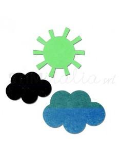 Bigz Die - Sun & Clouds by Echo Park Paper Co.