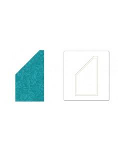 "Bigz Die - Trapezoid, 2 1/2"" x 4 1/2"" Unfinished (cm 6,35 x 11,43)"