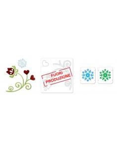 Bigz Die w/Bonus Embosslits Die - Swirl & Snowflake by BasicGrey
