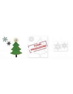 Bigz Die w/Bonus Sizzlits Die - Tree & Snowflakes by BasicGrey