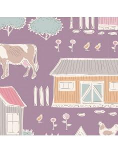 Tilda Tiny Farm Mauve,...