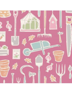 Tilda Tiny Farm Tools Pink,...