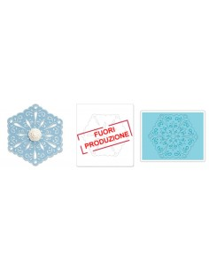 Bigz Die w/Bonus Textured Impressions - Snowflake 4 by Beth Reames