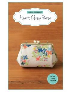 Heart Clasp Purse
