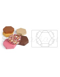 Bigz L Die - Box, Hexagon by Where Women Cook