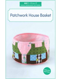 Patchwork House Basket