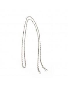 "Silver 47"" Purse Chain"