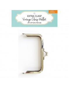Silver Vintage Clasp Wallet...