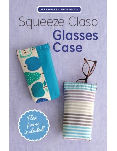 Squeeze Clasp Glasses Case