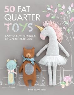 50 Fat Quarter Toys, Easy...
