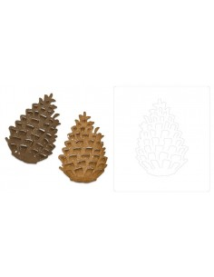 Bigz Die Pinecone by Tim Holtz
