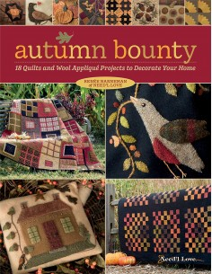 Autumn Bounty - 18 Quilts...