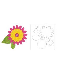 Bigz Pro Die - Flower Layers by Dena Designs
