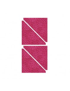 "Bigz Pro Die - Half-Square Triangles, 5 1/2"" Finished Square"