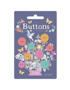 Tilda Gardenlife, 4 Bottoni...