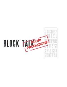 Bigz XL Alphabet Die - Block Talk by Tim Holtz