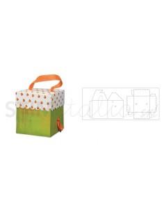 Bigz XL Die - Box, Scallop w/Handle Holes by Where Women Cook