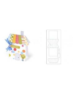 Bigz XL Die - Card, House by Deena Ziegler