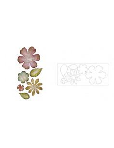 Bigz XL Die - Jumbo Tattered Florals by Tim Holtz