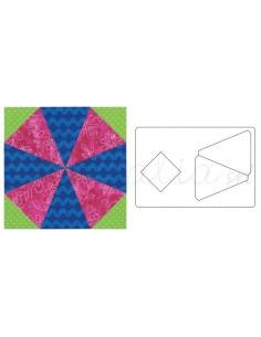 "Bigz™ L Die - Kaleidoscope, 6 1/2"" Assembled"