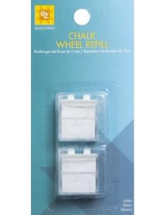 CHALK WHEEL REFILL WHITE