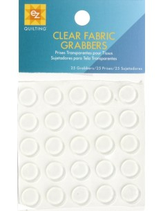 CLEAR FABRIC GRABBERS