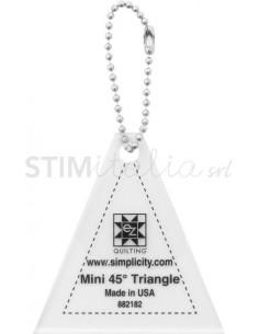 "EZ MINI 45 DEGREE TRIANGLE 2.5"" x 2.4"""