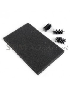 Accessory - Replacement Die Brush Rollers & Foam Pad for Wafer-Thin Dies