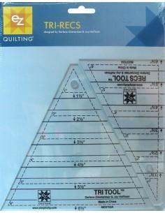 EZ Quilting - Tri-Recs Tools - Sagome per Triangoli