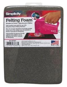 Felting Foam (Gomma speciale x Hand Held Felting Machine)