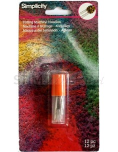 Felting machine needles (12)