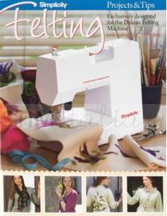 Felting Projects & Tips Book (Progetti per feltro e suggerimenti)