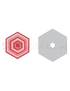 Framelits Die Set 10PK - Hexagons