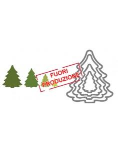 Framelits Die Set 4PK - Trees, Christmas by Rachael Bright