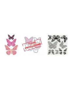 Framelits Die Set 5PK w/Stamps - Butterflies 4 by Paula Pascual
