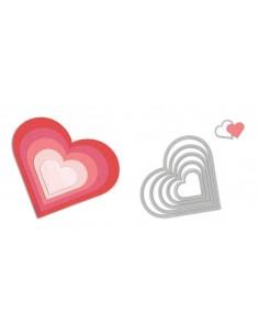 Framelits Die Set 6PK Hearts