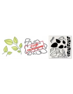 Framelits Die Set 6PK w/Stamp - Leaves by Stephanie Barnard