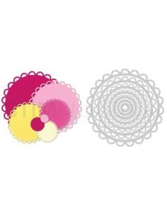 Framelits Die Set 7PK - Circles, Scallop by Stephanie Barnard