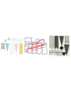 Framelits Die Set 8PK w/Stamps - Banners 2 by Stephanie Barnard