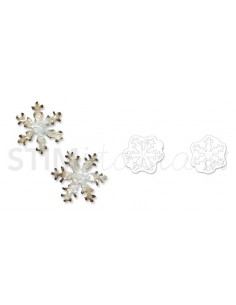 Movers & Shapers Die Magnetic Set 2PK - Mini Snowflakes Set by Tim Holtz