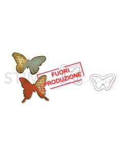 Movers & Shapers Die Set 2PK - Mini Butterflies Set by Tim Holtz