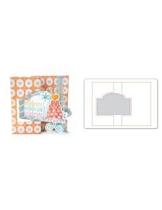 Movers & Shapers L Die - Card, Ornate Flip-its by Stephanie Barnard