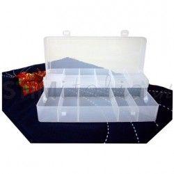 Organizer per il cucito trasparente – cm 20x10x4