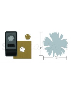 Paper Punch Spiky Floral,...