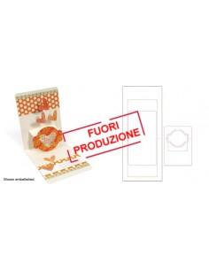 Pop 'n Cuts XL Die Set - Card, Horizontal A2 w/Circle Label, 3-D