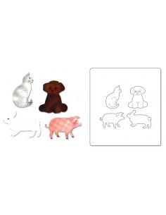 AllStar Die - Cat, Dog, Pig & Rabbit