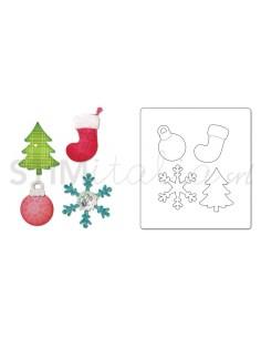 Allstar Die - CHRISTMAS TREE, ORNAMENT, SNOWFLAKE & STOCKING