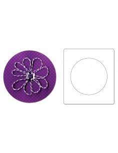 "AllStar Die - Circle 4"" (cm 10,16)"