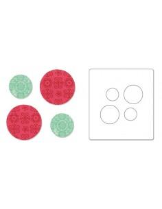 """Bigz Die Circles 1"""" & 1.5"""""""